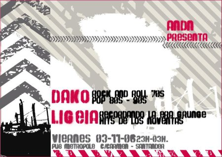 Dako y Ligeia en ANDN Club